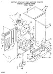 Diagram for 03 - Dryer Cabinet And Motor
