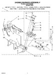 Diagram for 04 - 3402853 Burner Assembly