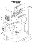 Diagram for 11 - Icemaker Parts, Parts Not Illustrated