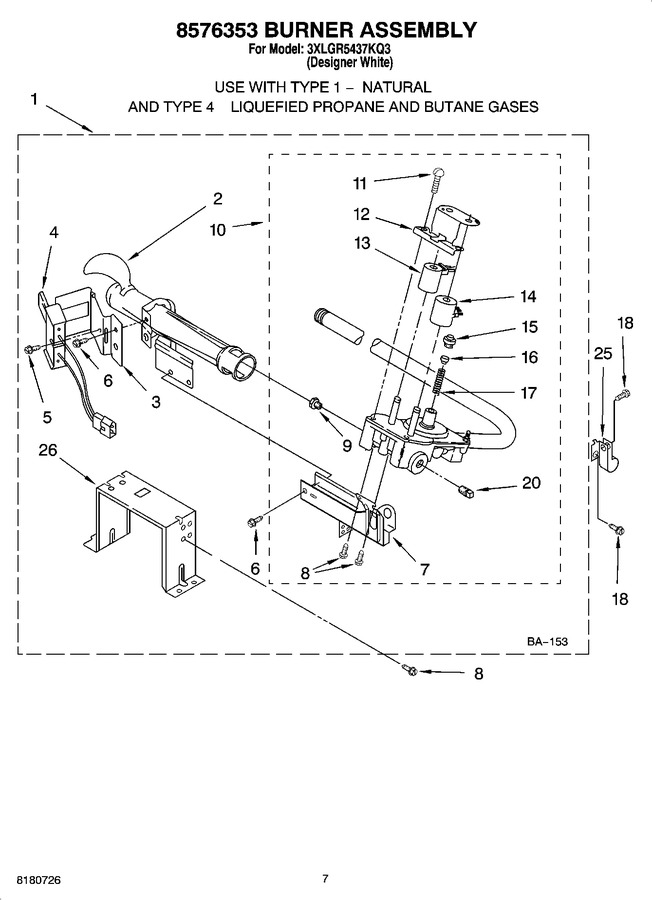 Diagram for 3XLGR5437KQ3