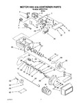 Diagram for 05 - Motor And Ice Container