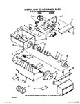 Diagram for 06 - Motor And Ice Container