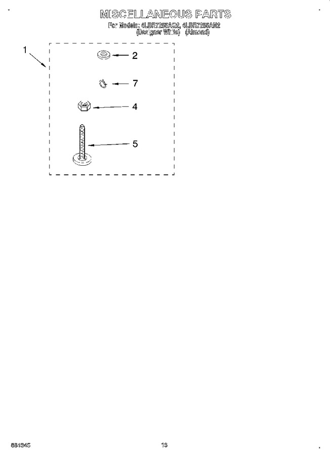 Diagram for 4LBR7255AN2