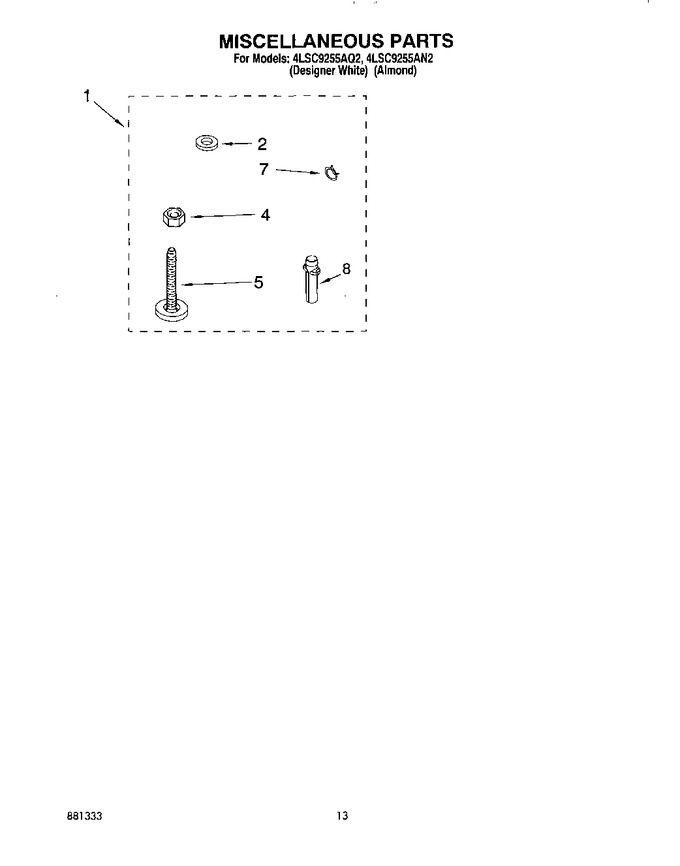 Diagram for 4LSC9255AN2