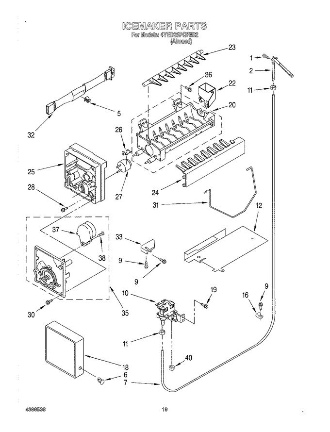 Diagram for 4YED25PQFN02