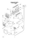 Diagram for 12 - Icemaker Parts - Parts Not Illustrated