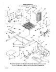 Diagram for 08 - Unit Parts, Parts Not Illustrated