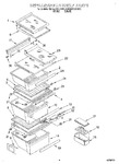 Diagram for 03 - Refrigerator Shelf