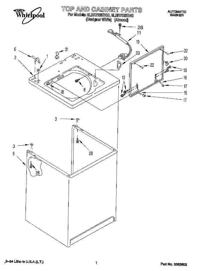 Diagram for 6LBR7255BQ0