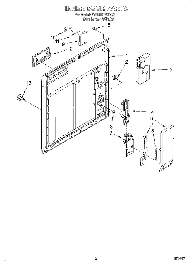 Diagram for 7DU900PCDQ2