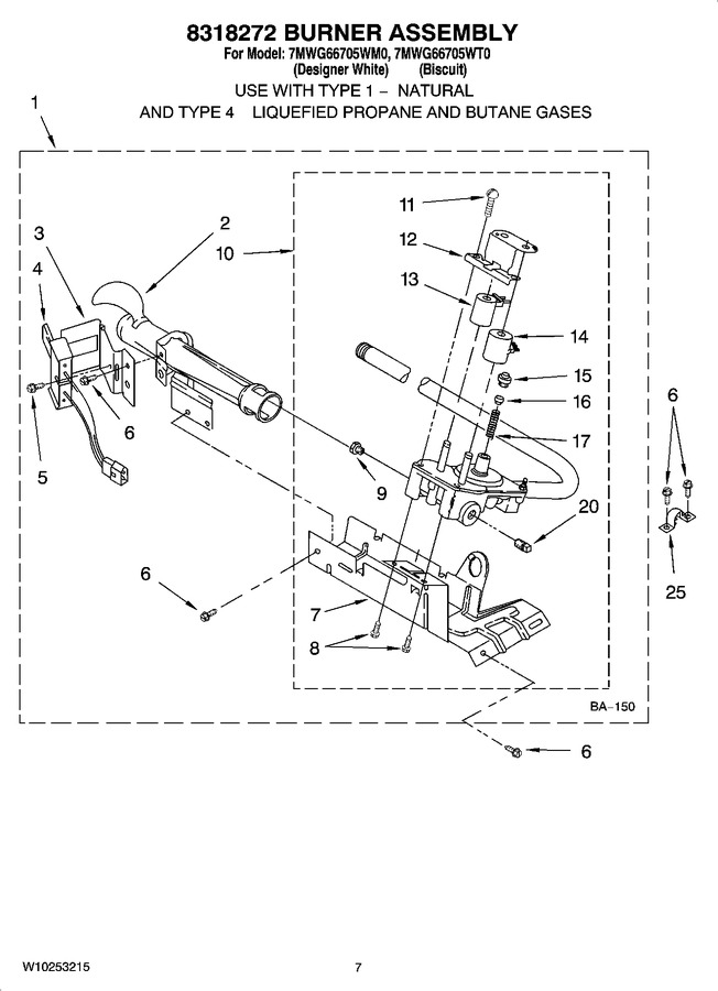 Diagram for 7MWG66705WT0