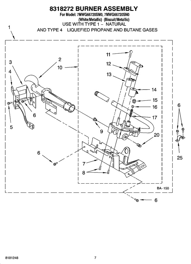 Diagram for 7MWG66720SM0