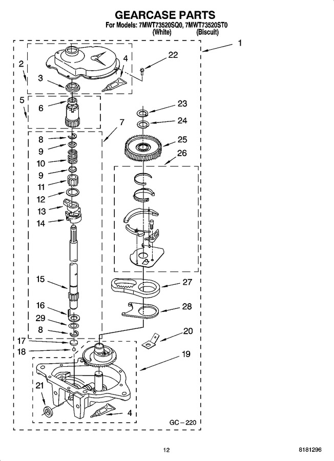 Diagram for 7MWT73520ST0