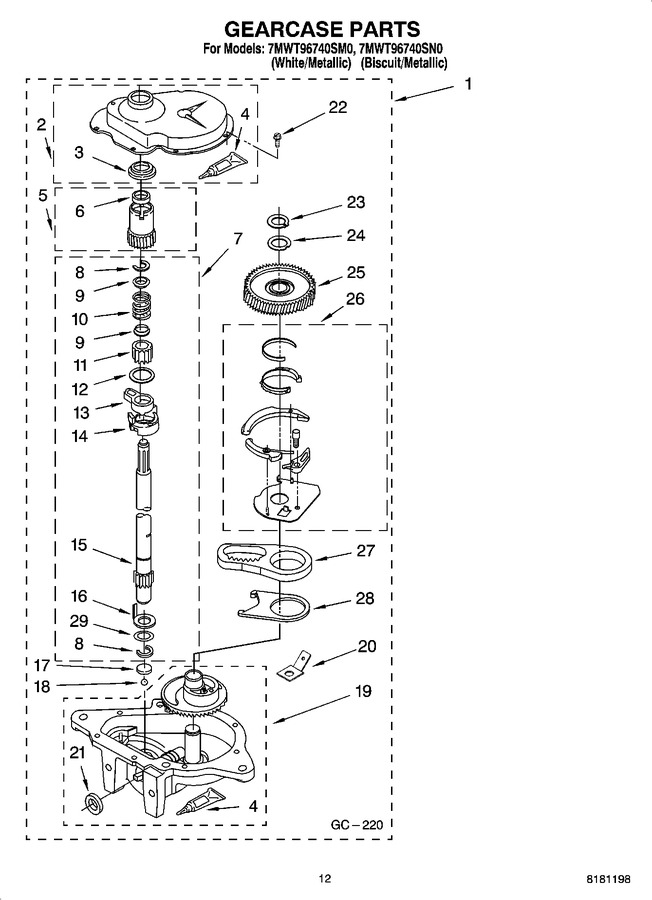 Diagram for 7MWT96740SN0