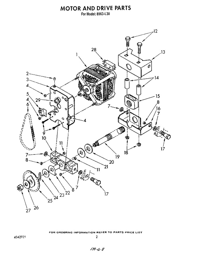 Diagram for 8963L30
