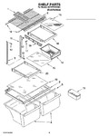 Diagram for 05 - Shelf Parts, Optional Parts (not Included)