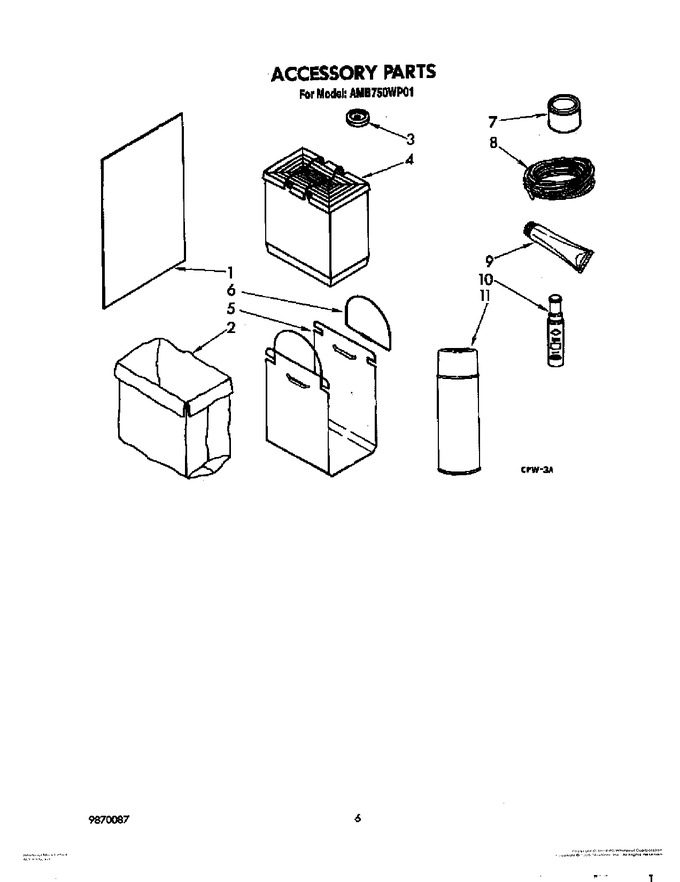 Diagram for AMB750WP01
