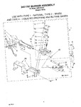 Diagram for 05 - 3401797 Burner