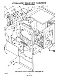 Diagram for 04 - Upper Cabinet And Front Panel
