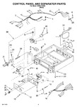 Diagram for 03 - Control Panel And Separator Parts