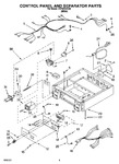 Diagram for 04 - Control Panel And Separator Parts