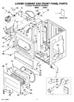 Diagram for 01 - Lower Cabinet And Front Panel Parts