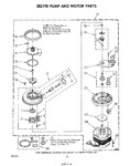 Diagram for 07 - 302740 Pump And Motor
