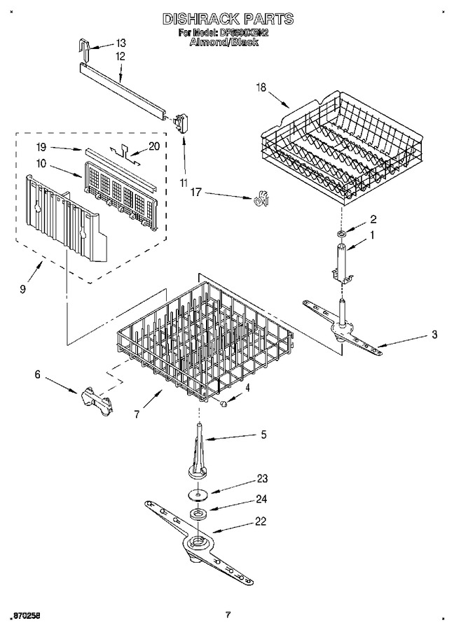 Diagram for DP8500XBN2