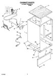 Diagram for 06 - Cabinet Parts