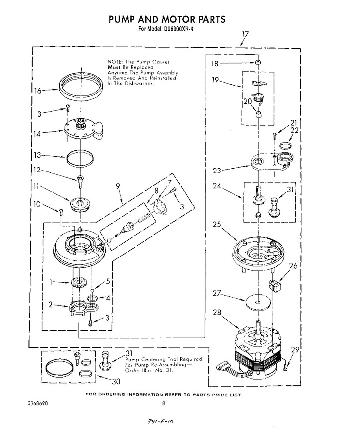 Diagram for DU6000XR4