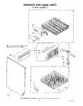 Diagram for 06 - Dishrack And Panel