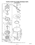 Diagram for 05 - Heater, Pump And Lower Spray Arm