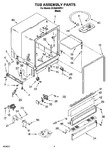 Diagram for 03 - Tub Assembly Parts