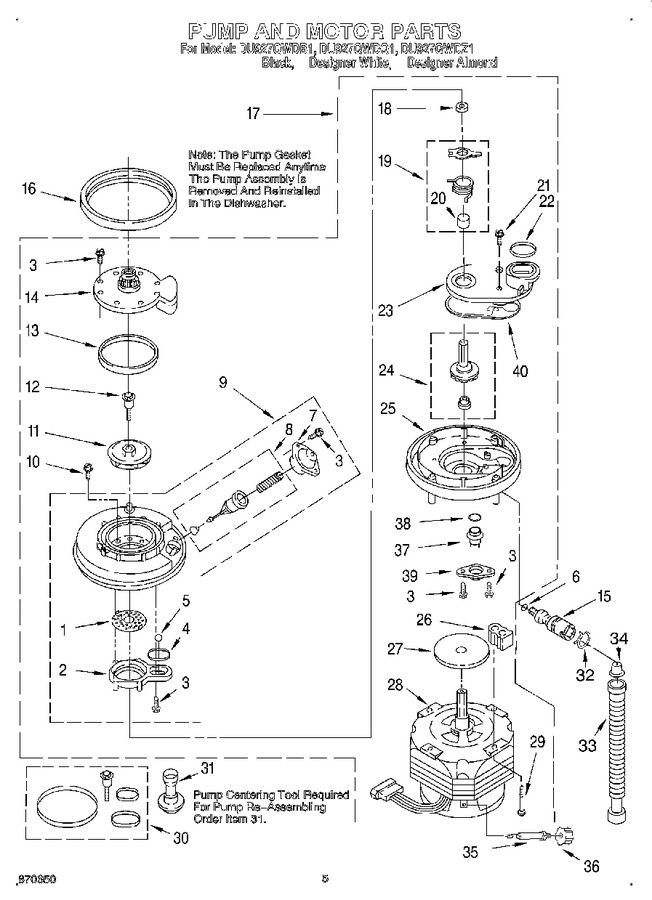 Diagram for DU927QWDB1