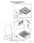 Diagram for 05 - Dishrack And Panel