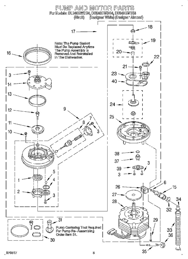 Diagram for DU940QWDB4