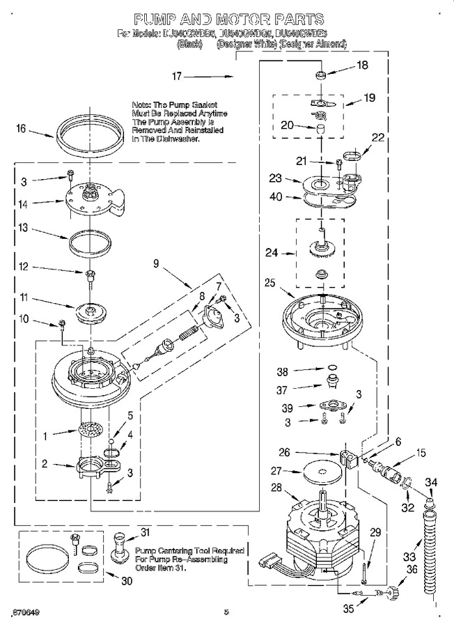 Diagram for DU940QWDQ6