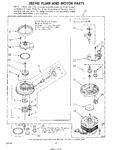 Diagram for 05 - 302740 Pump And Motor