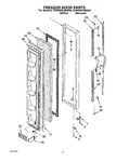 Diagram for 05 - Freezer Door