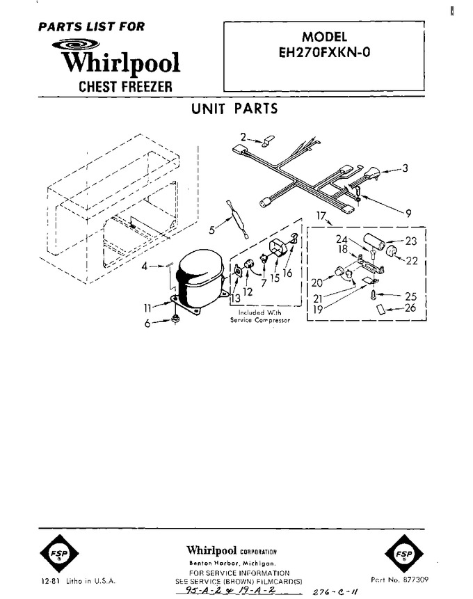 Diagram for EH270FXKN0