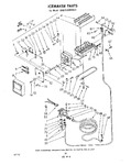 Diagram for 12 - Ice Maker , Parts Not Illustrated