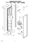 Diagram for 07 - Freezer Door Parts