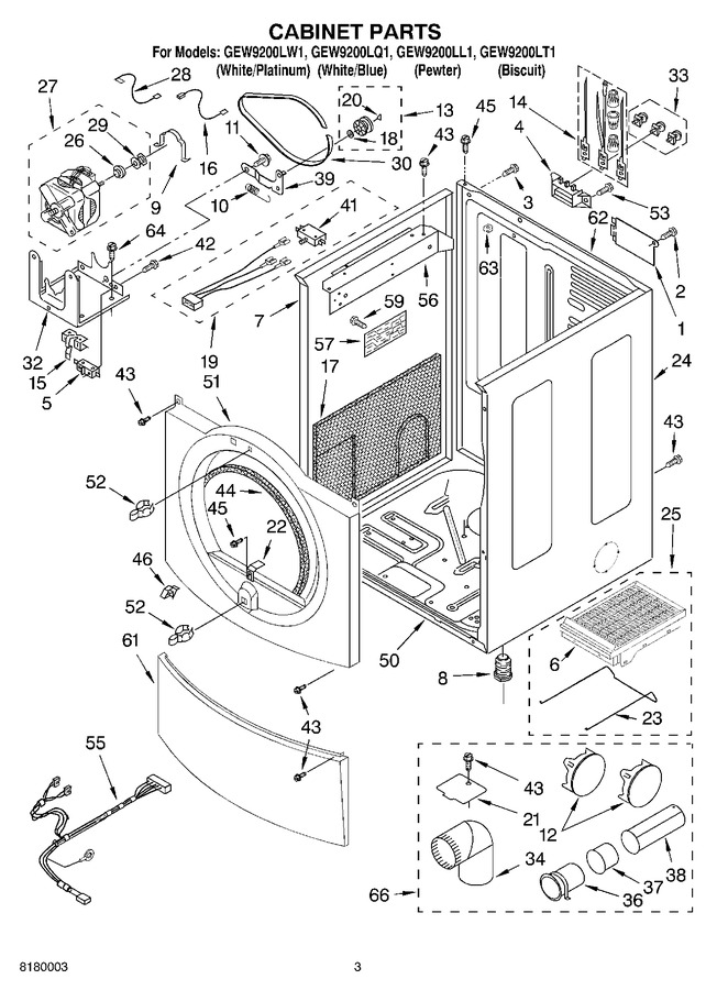 Diagram for GEW9200LQ1