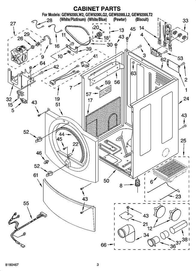 Diagram for GEW9200LQ2