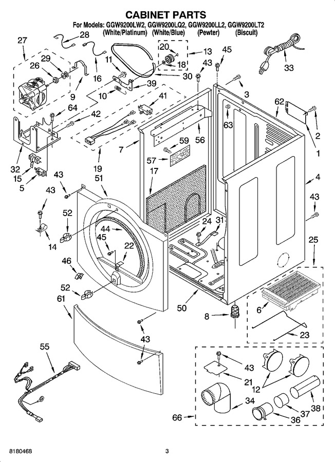 Diagram for GGW9200LQ2