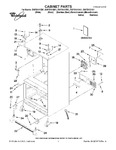 Diagram for 01 - Cabinet Parts