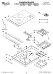 Diagram for 01 - Cooktop Parts, Optional Parts (not Included)