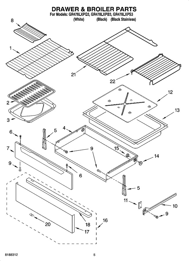 Diagram for GR478LXPS3