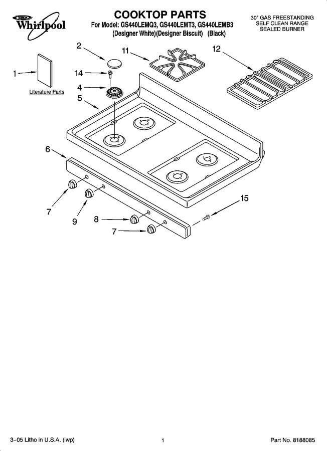 Diagram for GS440LEMT3