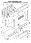 Diagram for 02 - Door And Drawer Parts